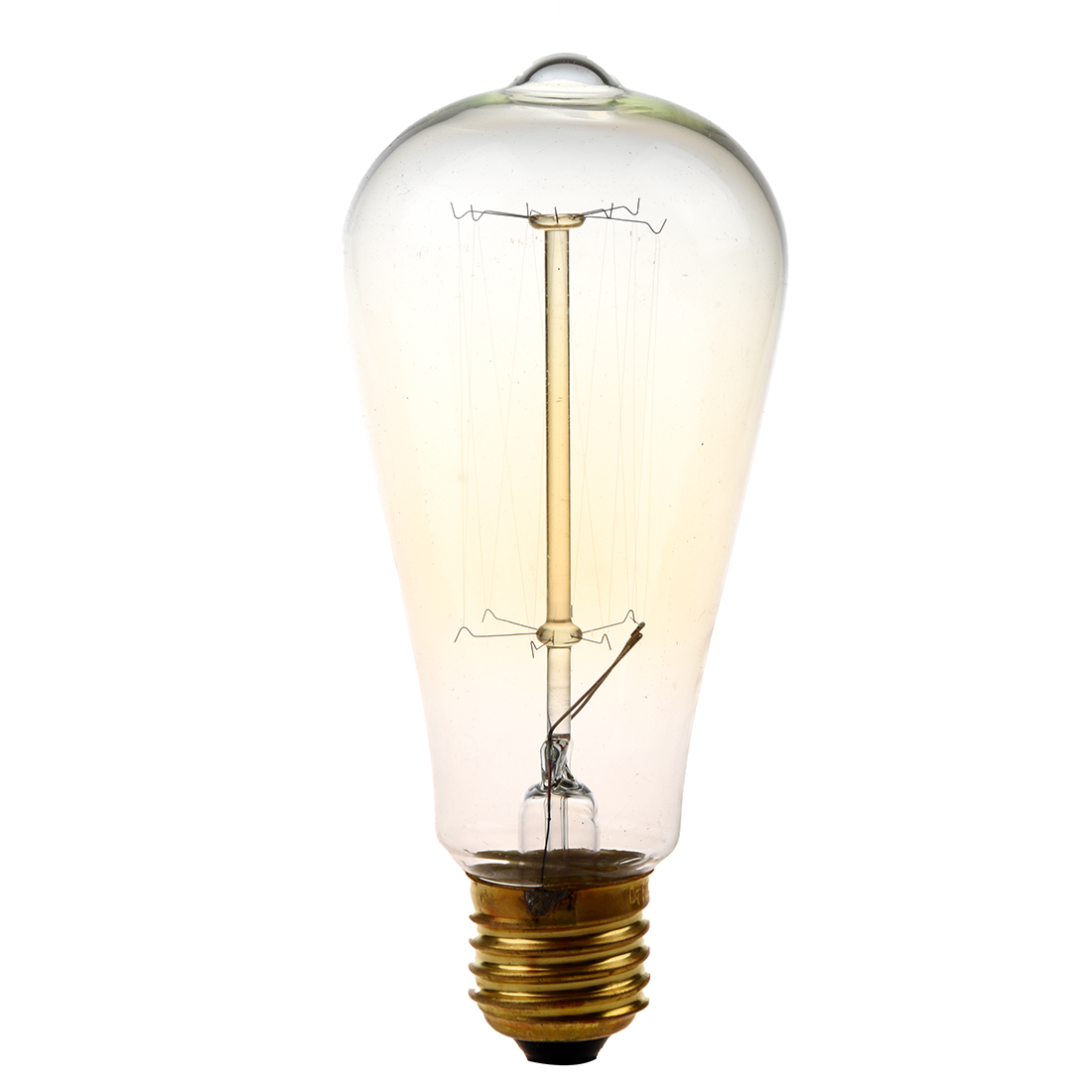 e27 st64 ampoule filament de tungstene lampe a incandescence 220v t7n7 ebay. Black Bedroom Furniture Sets. Home Design Ideas