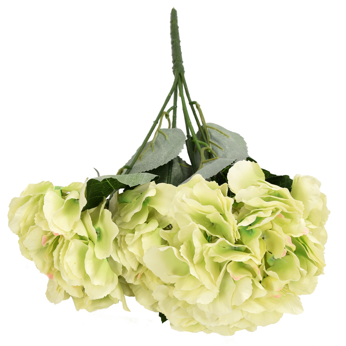 artificial hydrangea flower 5 big heads bouquet tg ebay. Black Bedroom Furniture Sets. Home Design Ideas