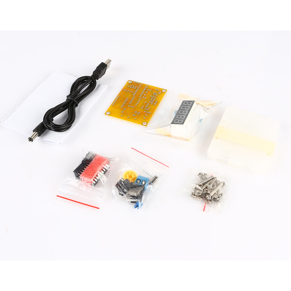 Frequency Meter Kit : Diy kits hz mhz crystal oscillator tester frequency