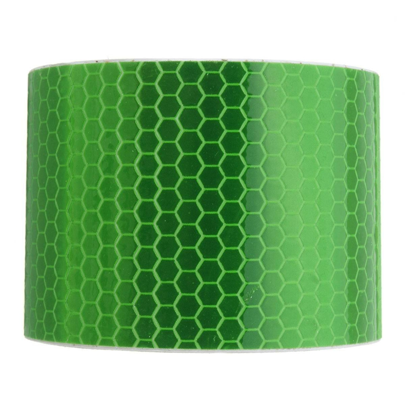 5cm×3m Klebeband Warnklebeband Reflektorband Sicherheit Markierung Band N5F7 1X