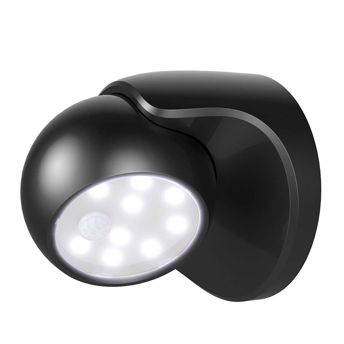 battery powered motion sensor detector led night lights. Black Bedroom Furniture Sets. Home Design Ideas