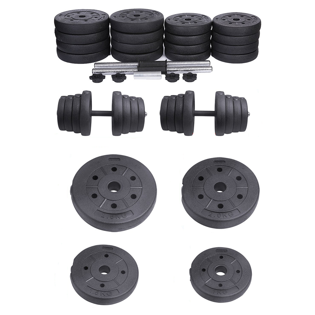 2x Dumbbell Free Weights Dumbells Set Gym Bench Barbell Bicep Workout Lifti H6p5 Ebay