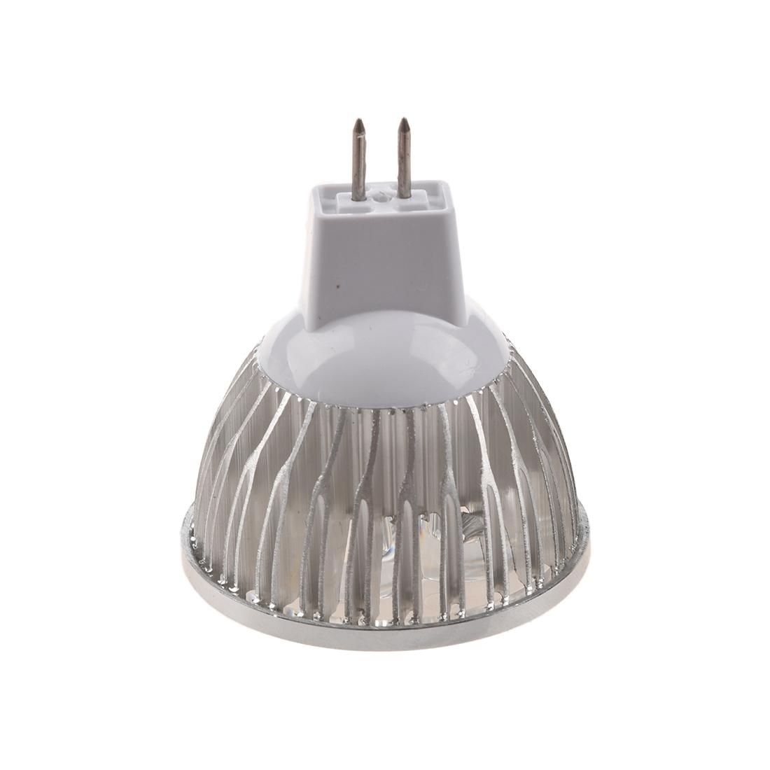 4 1w gu5 3 mr16 12v warm white led light lamp bulb spotlight ad ebay. Black Bedroom Furniture Sets. Home Design Ideas