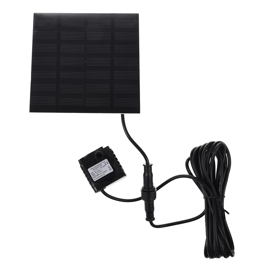 Brushless DC Solar Water Pump Power Panel Kit Fountain Pool Garden Watering#A0I7