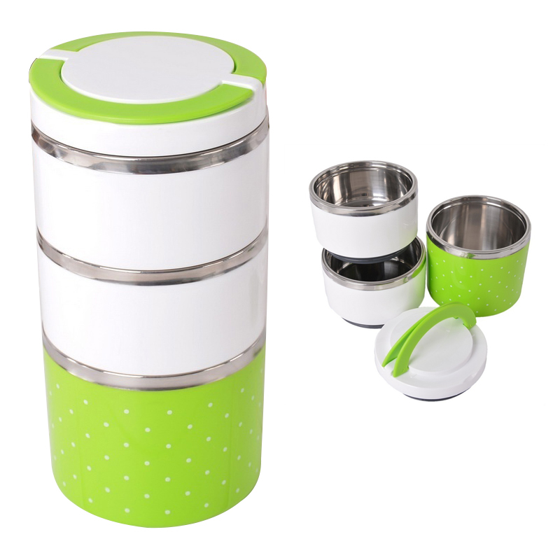 thermal bento lunch box thermos for food stainless steel insulation storage h. Black Bedroom Furniture Sets. Home Design Ideas