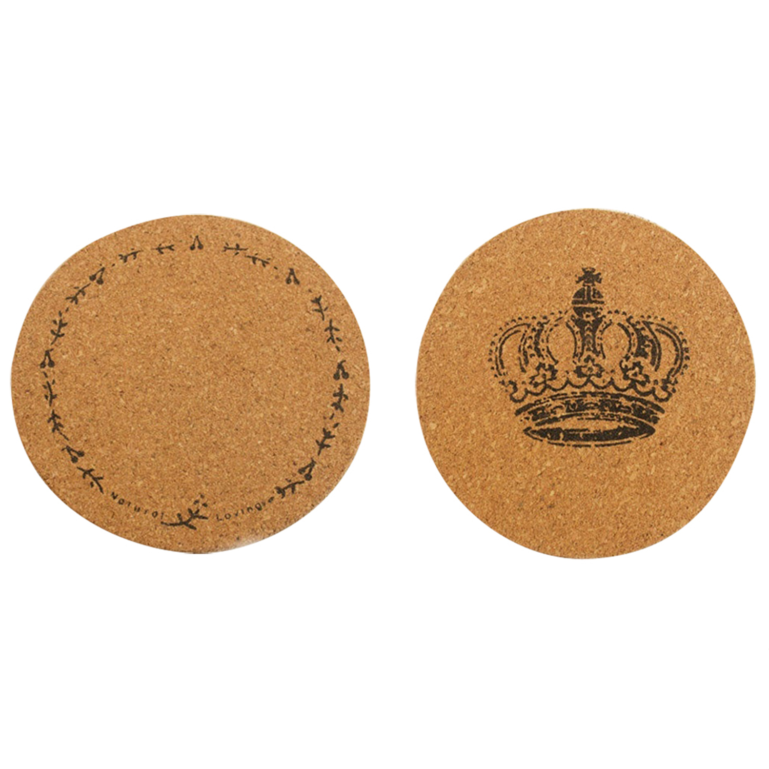 1pcs Plain Round Cork Coasters Coffee Drink Tea Cup Mat
