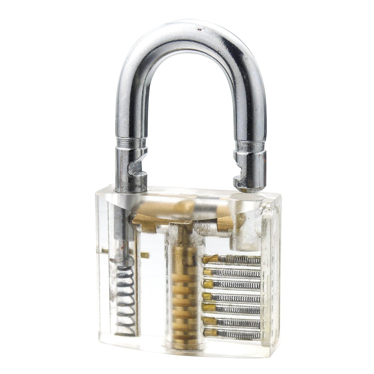 how to pop open a master padlock