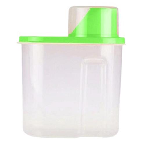 1.9/2.5L Plastic Food Storage Box Grain Container Kitchen
