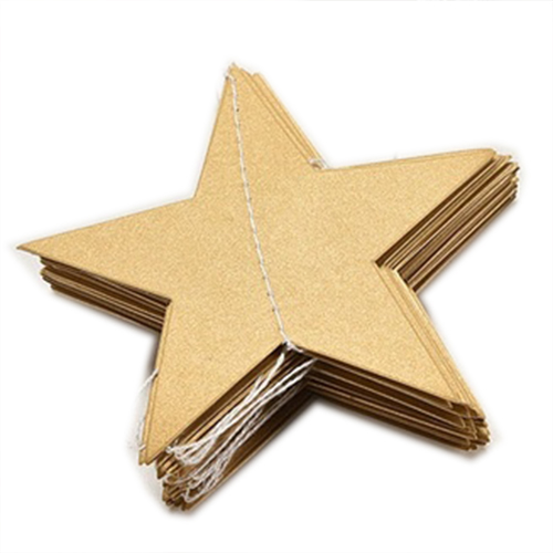 4M Star Paper Garland Bunting Home Wedding Party Banner Hanging Decoration Q6E1