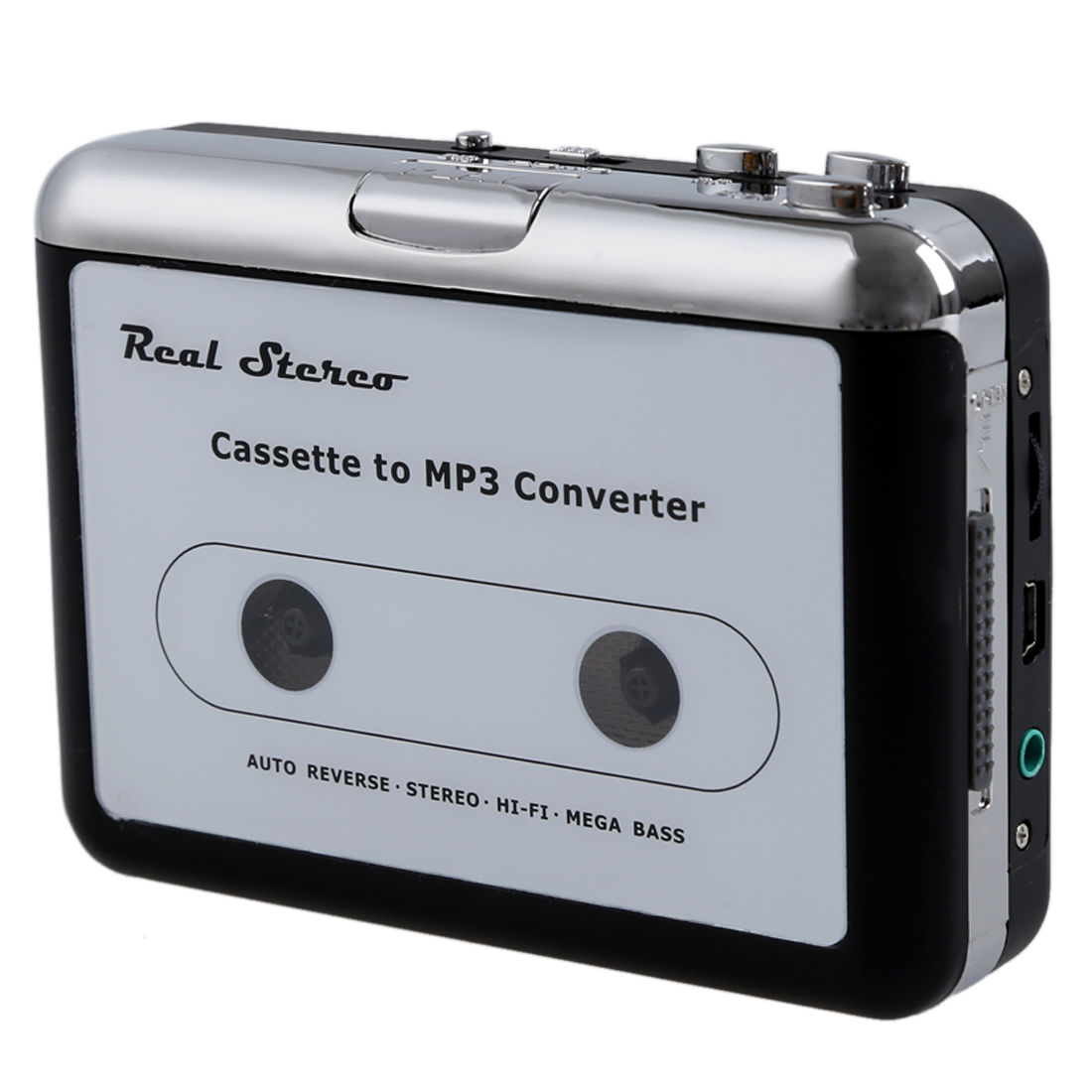 usb cassette capture multi function walkman to mp3 converter silver ct ebay. Black Bedroom Furniture Sets. Home Design Ideas