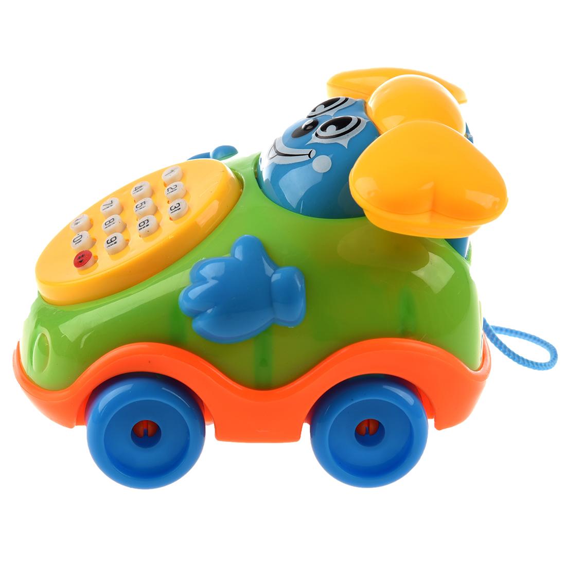 5x Child Puzzle Cartoon Music Phone Toy Car Belt Baby Toys