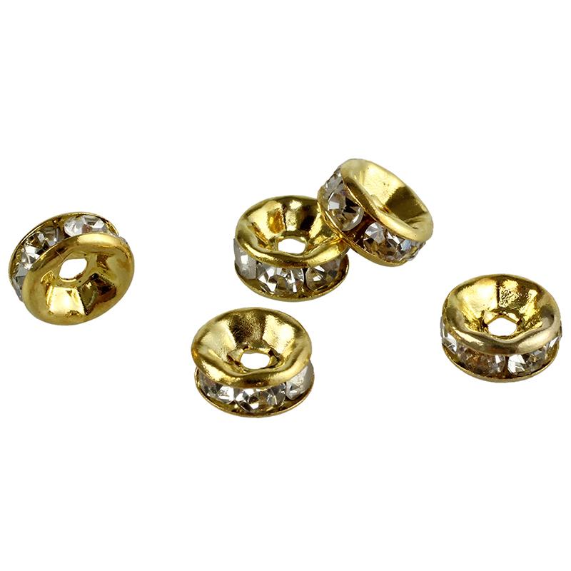 100pzs-6mm-Cuentas-espaciadoras-de-cristal-de-diamantes-de-imitacion-chapad-P3H8