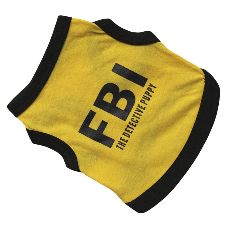 Lovely-FBI-Letter-Print-Dog-Puppy-Pets-Vests-Clothes-BT