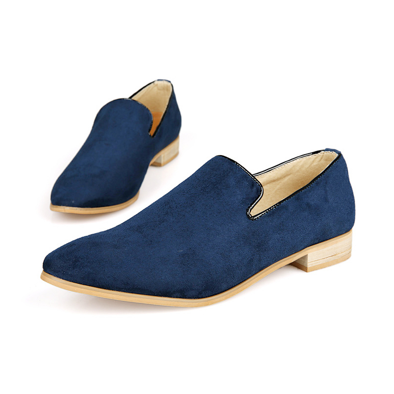 casual slip on loafer shoes mens moccasins driving