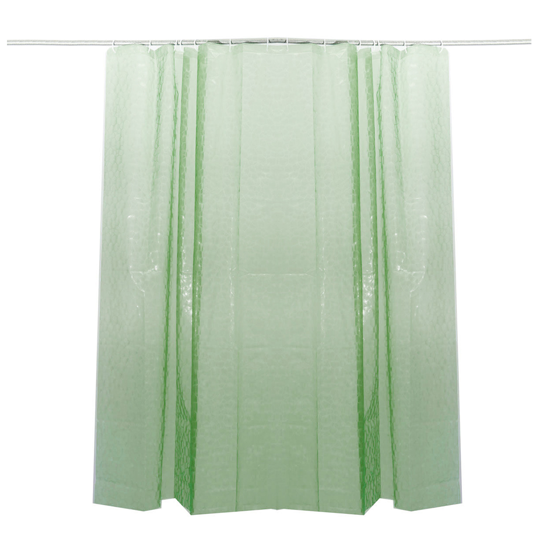 Clear Thicker EVA Bath Shower Curtain 3D Water Cube Mold