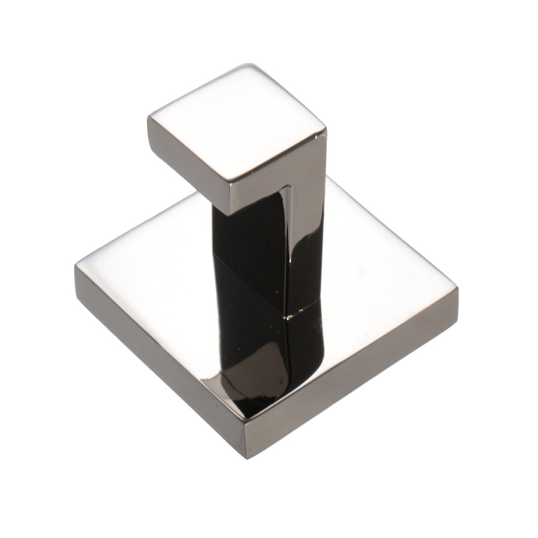 304 stainless square mirror polish coat towel robe holder for Mirror hangers