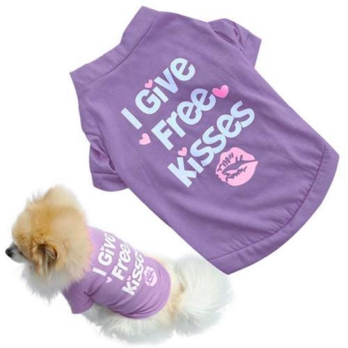 Dog Cat T-Shirt Clothes Vest Tee Cotton Puppy Pet Apparel Costume Coat Jacke 1E9