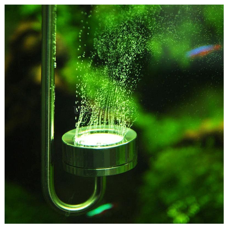 Edelstahl Aquarium Co2 Diffusor Pollen Pflanze Angeln