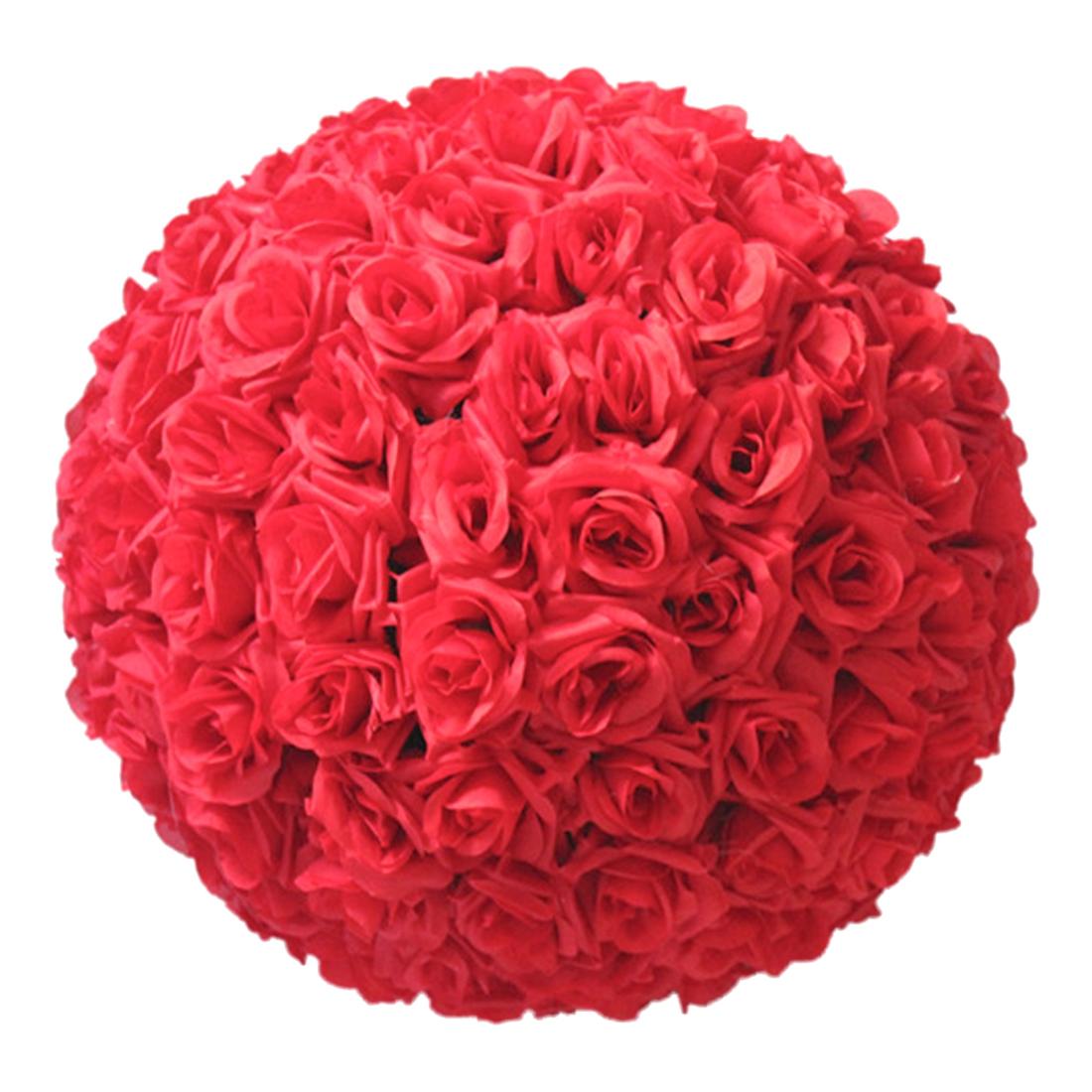 """8"""" 20cm Wedding Artificial Rose Silk Flower Ball Mint Hanging Flower Ba"""