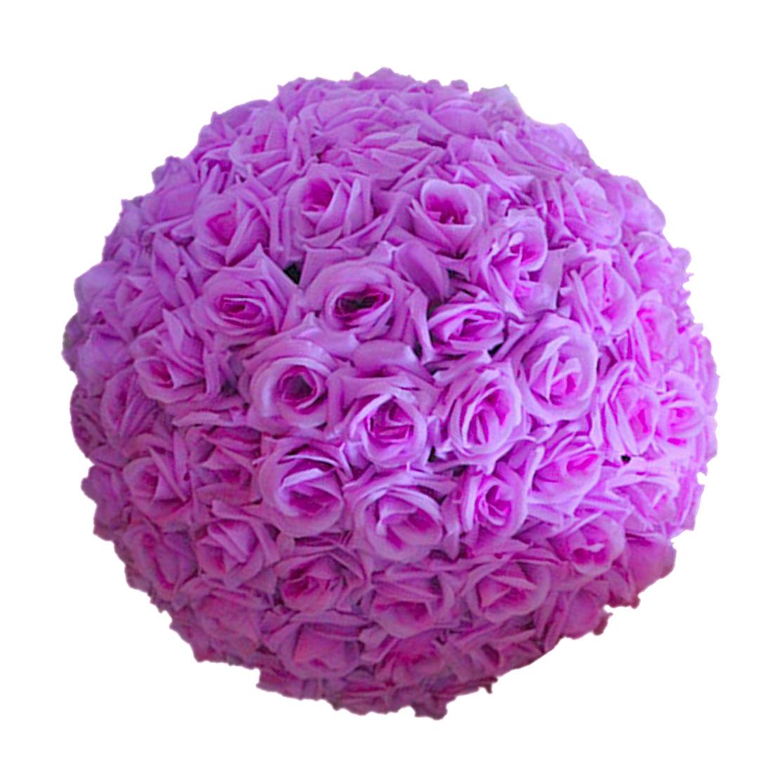 820cm Wedding Artificial Rose Silk Flower Ball Mint Hanging