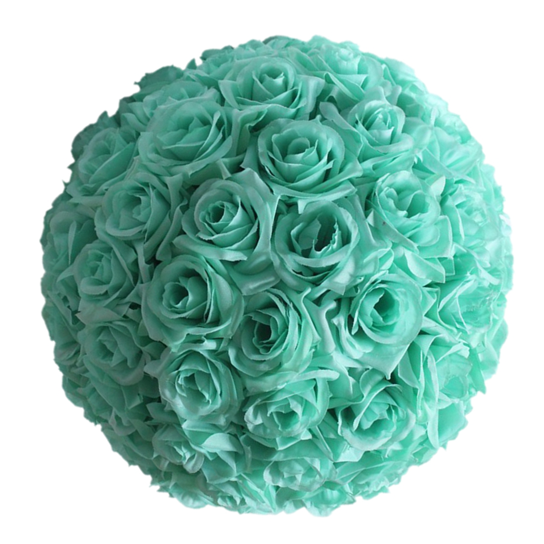 820cm wedding artificial rose silk flower ball mint hanging 8 034 20cm wedding artificial rose silk flower mightylinksfo Images