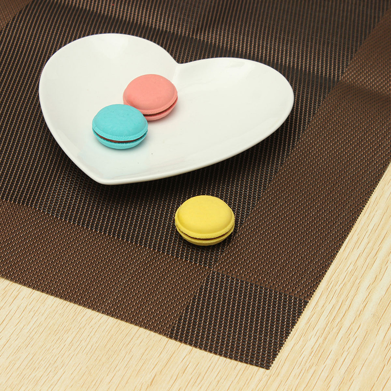 Placemat place mat table mat washable 45x30cm t1 ebay for Table placemats