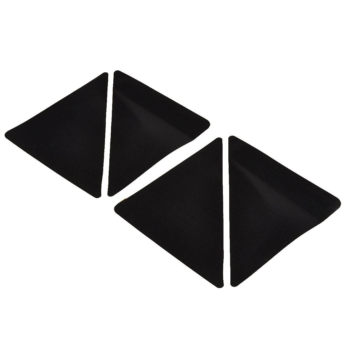100 brand new and high quality antiskid rubber floor carpet mat rug gripper stopper sticker triangle shaped appearance design simple and practical