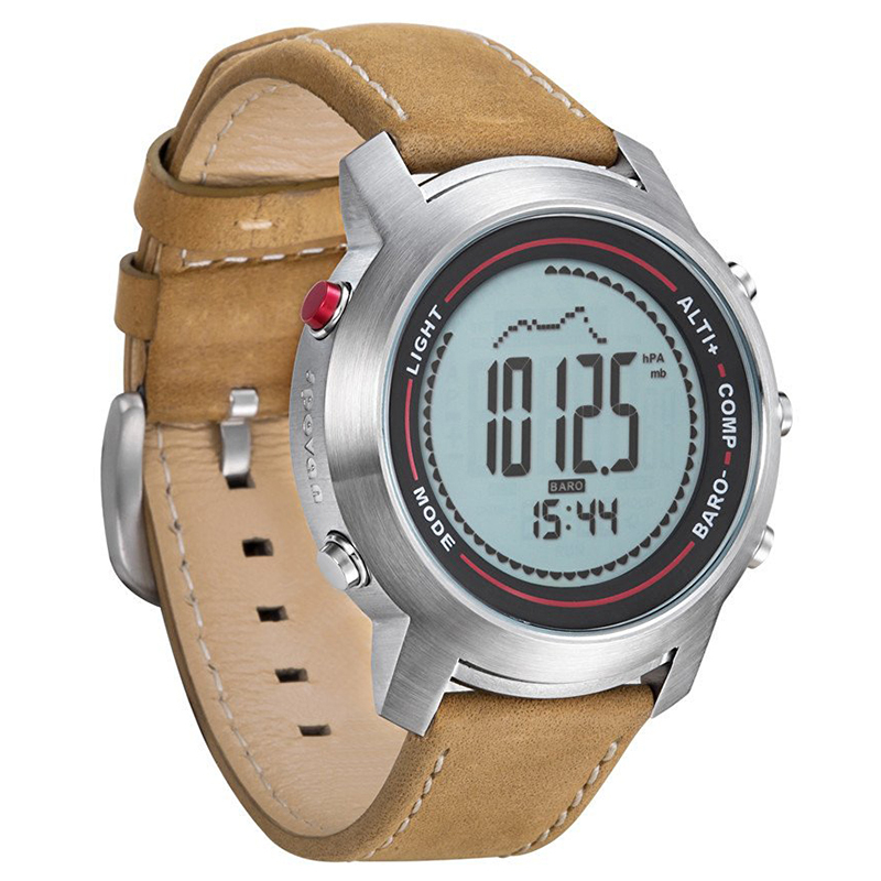 digital watches leather band mg 01 sports altimete