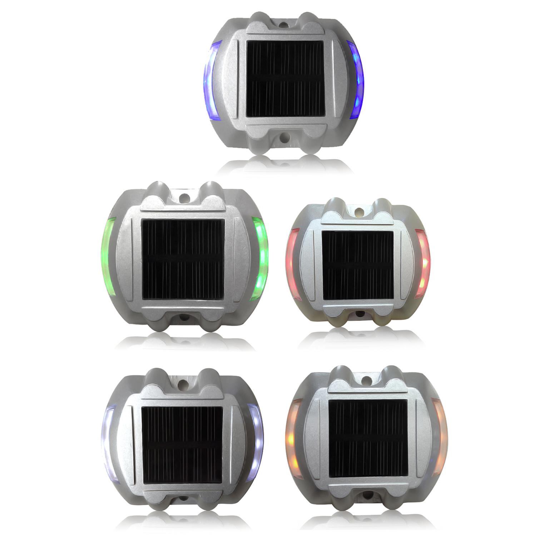 details about 6 led solar powered security lights s0f9. Black Bedroom Furniture Sets. Home Design Ideas