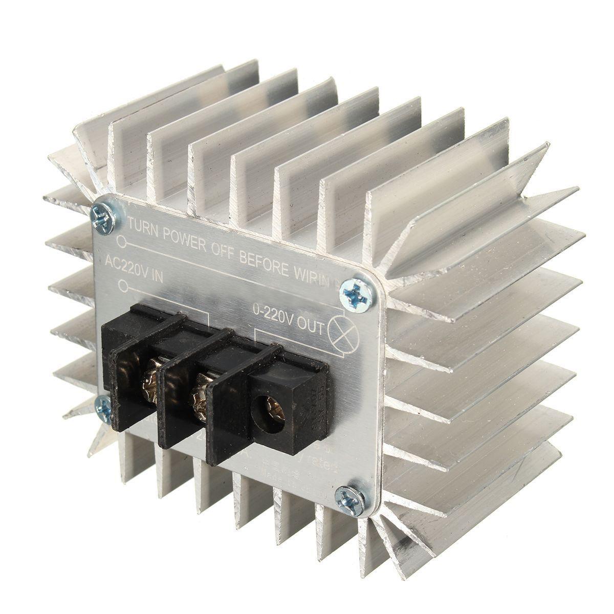 5000w 220v Ac Scr Motor Speed Controller Sh Ebay