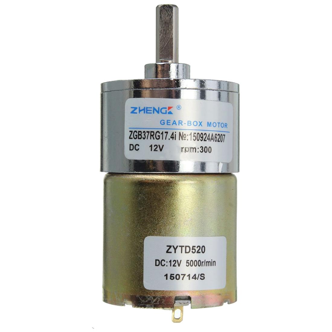 Zhengk 12vdc electric motor 300 rpm high torque gear motor for 300 rpm high torque dc motor