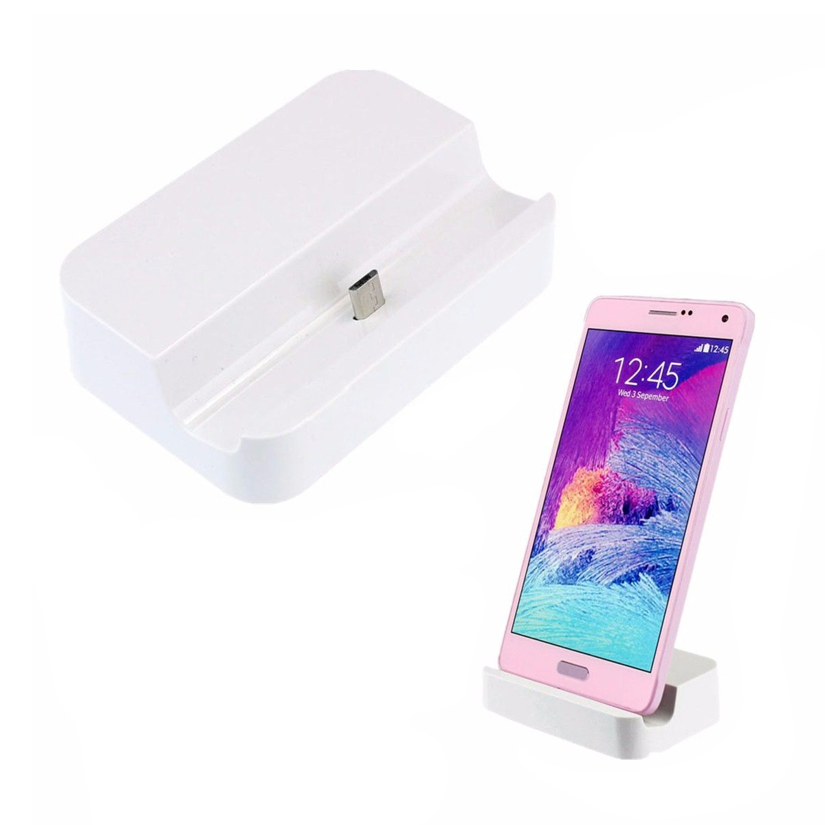 Micro-USB-Charger-Dock-Docking-Station-For-HTC-Samsung-Galaxy-S6-S6-Edge-Wh-T4U2