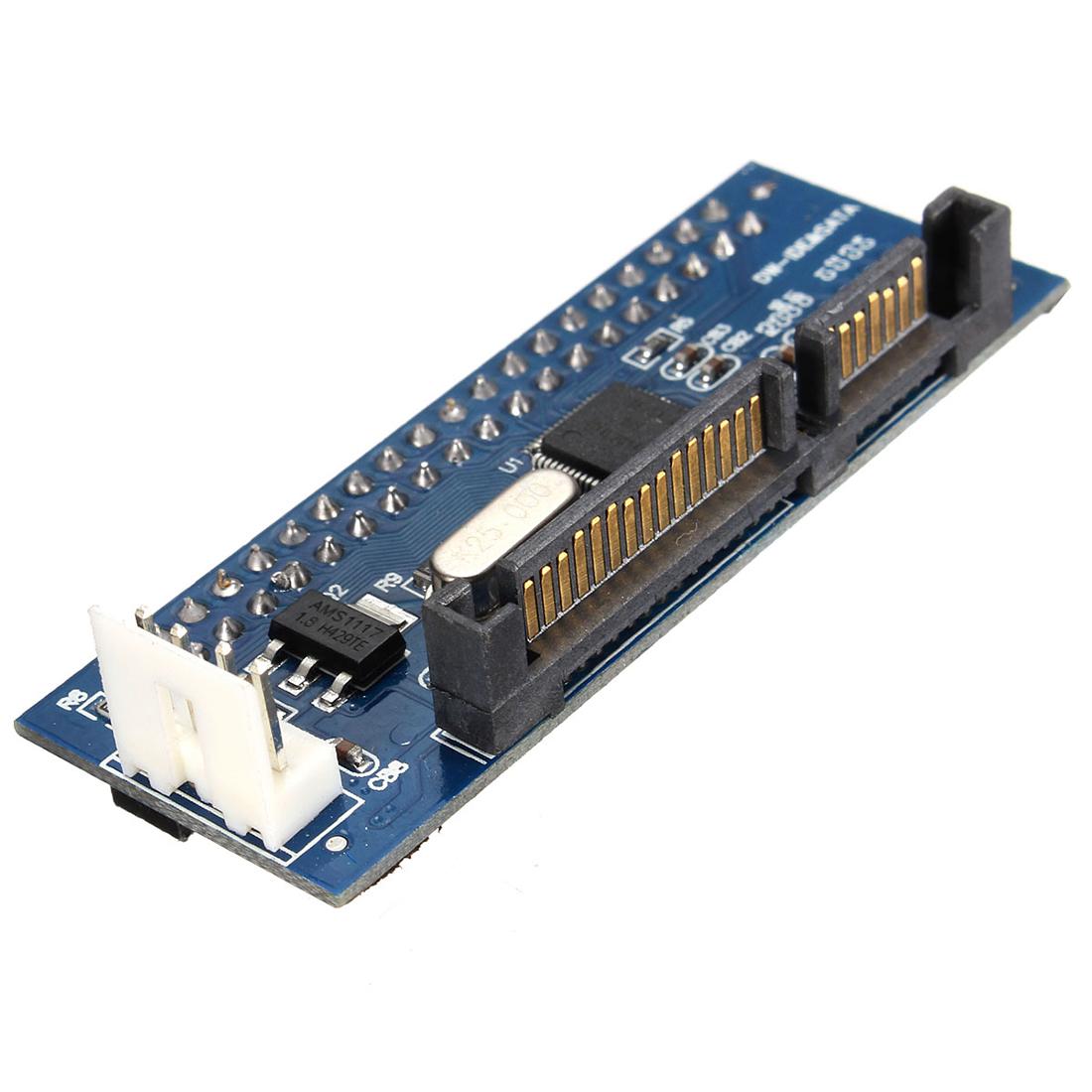 Converter 40-Pin IDE Female SATA to 22-Pin male adapter PATA SATA Card T1