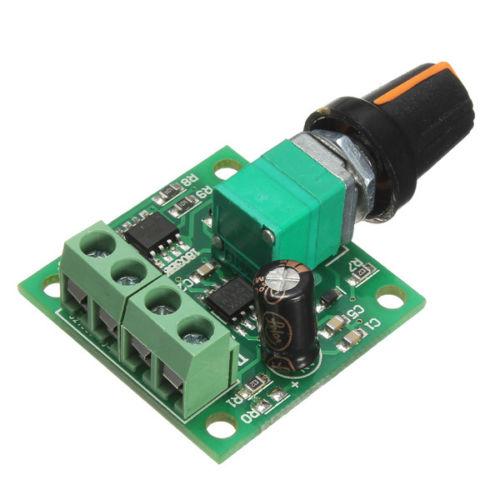 Dc 1 8v 3v 5v 6v 12v 2a Motor Speed Controller 30w Pwm