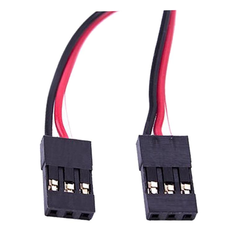 3 STIFT STECKER auf Stecker Servo Verlaengerungskabel Draht Kabel ...