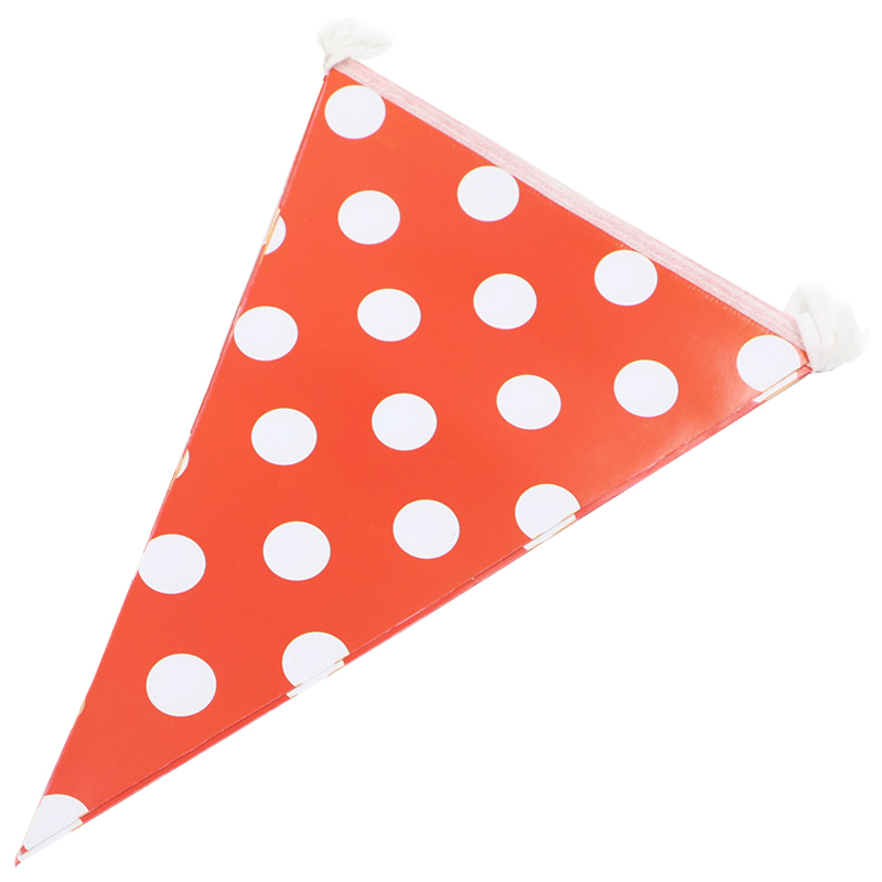 polka dot party flags - photo #2