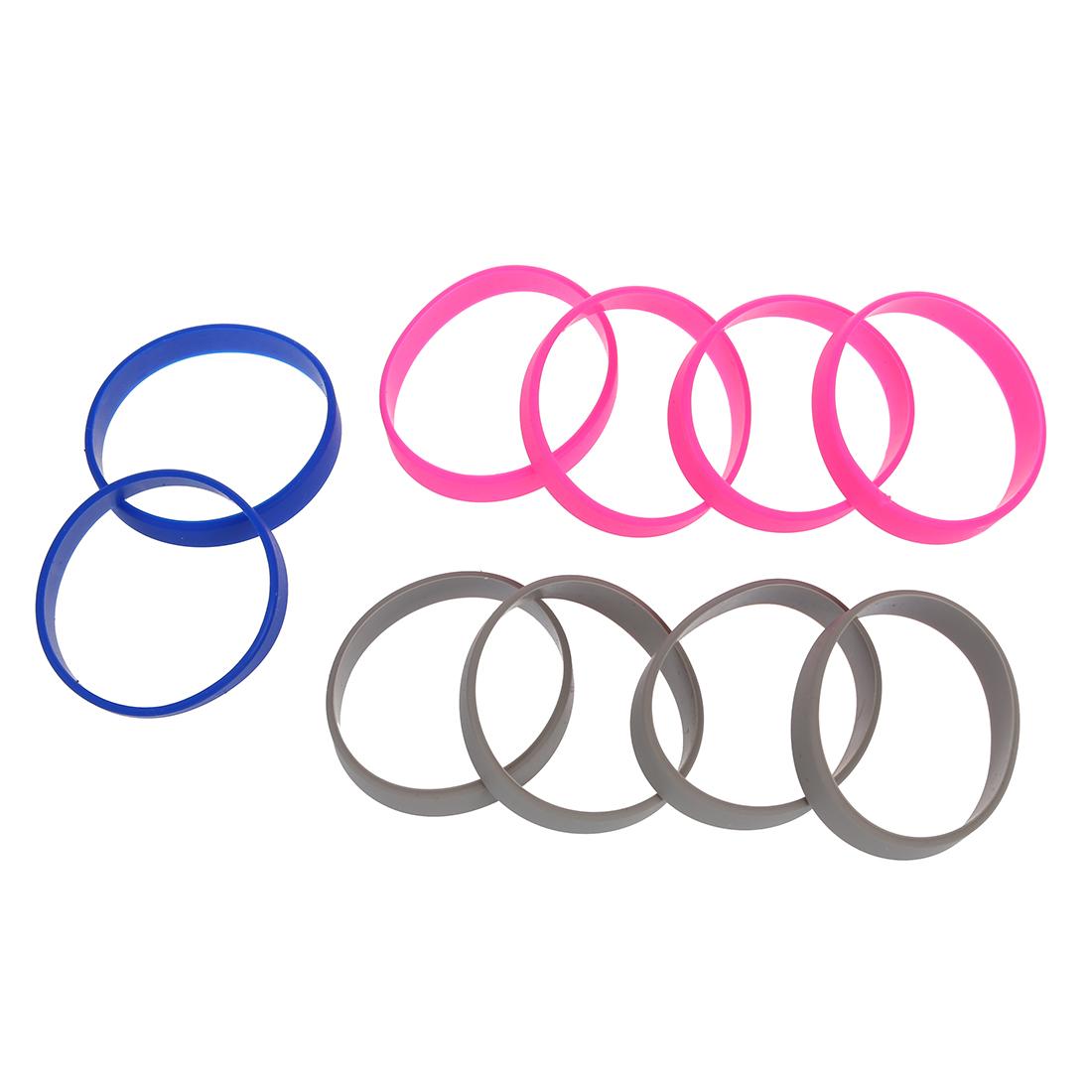 10 silikon gummi armband stulpe armband handgelenk band 12mm me ebay. Black Bedroom Furniture Sets. Home Design Ideas