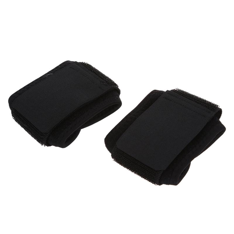 Negro-buckleportes-Banda-correa-envuelta-soporte-apoyo-elastico-muneca-Un-taP7O8