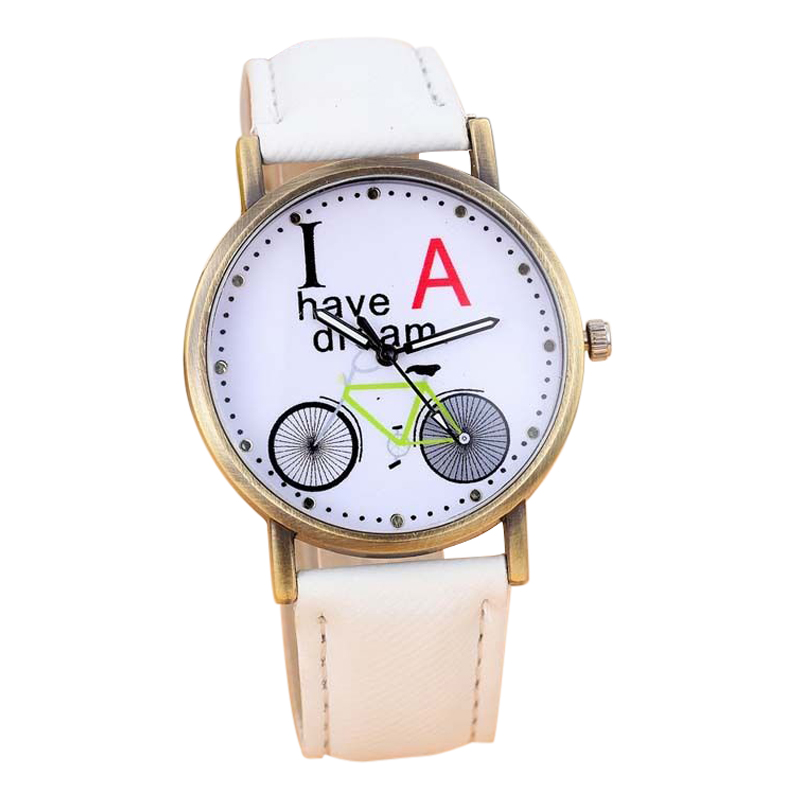 27s8 new fashion denim watches bicycle