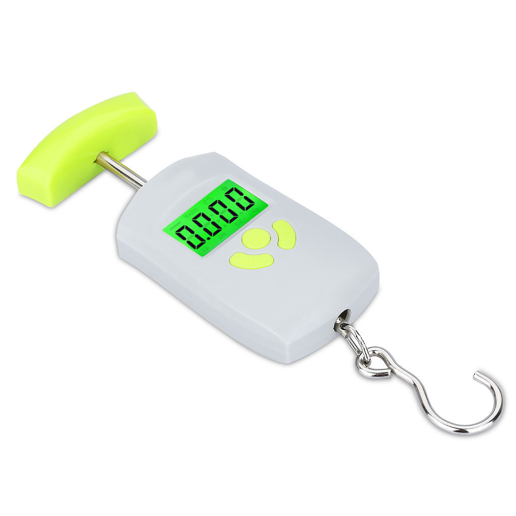 50 kg 10g lcd digital fish hanging luggage scale weight for Fish weighing scales