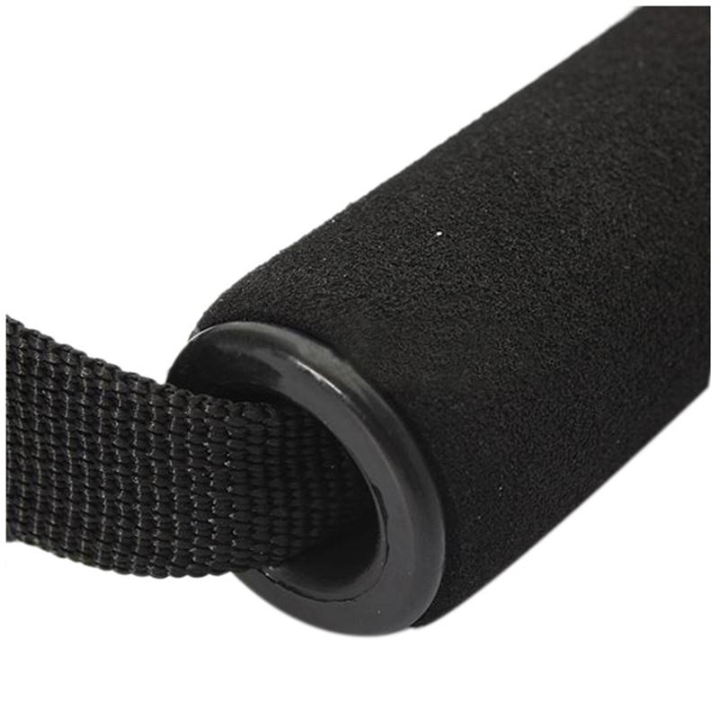 2 X Einhandgriff Einhandkabel Kabelzug Trizeps Trainings Rope Schwarz X7U9