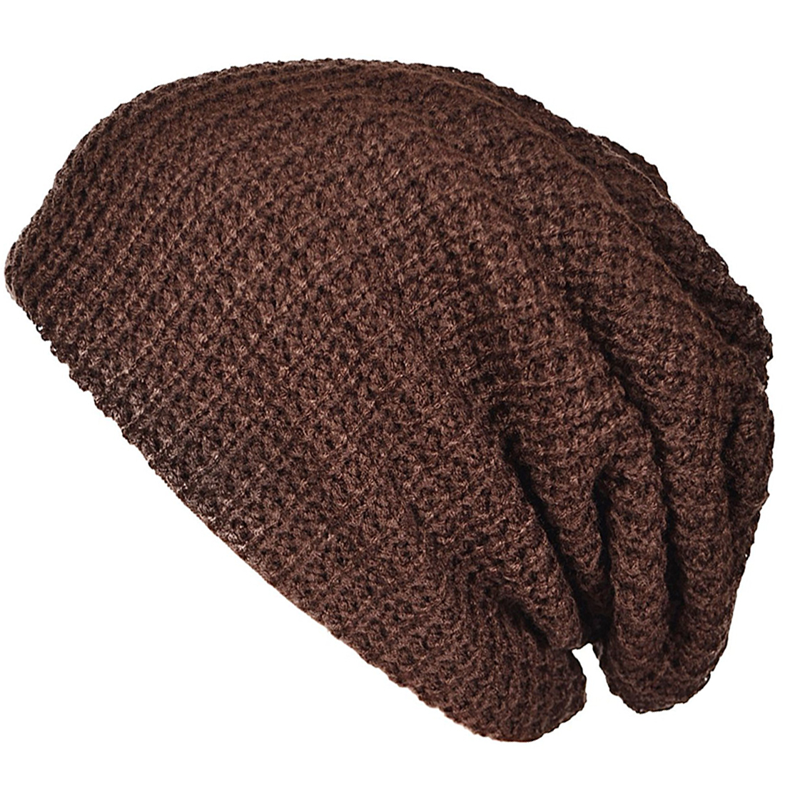 Mens Slouchy Long Beanie Knit Cap for Summer Winter Oversize R3K5  4c156d6cd3f