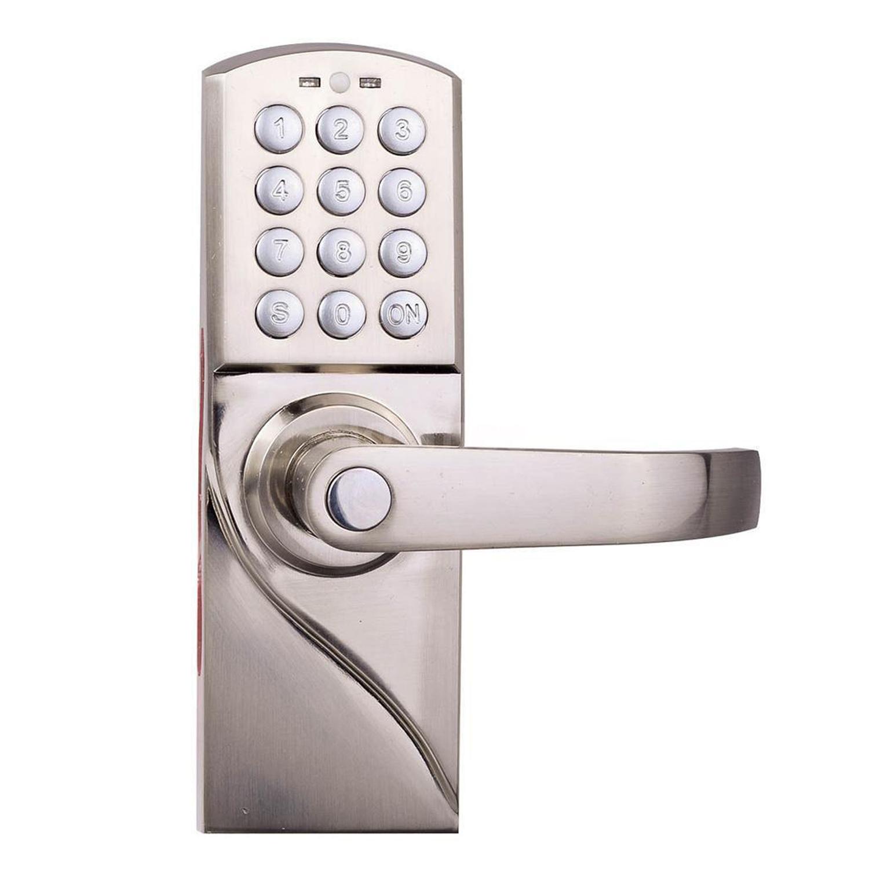 digital electronic code keyless keypad security door lock 94te ebay. Black Bedroom Furniture Sets. Home Design Ideas