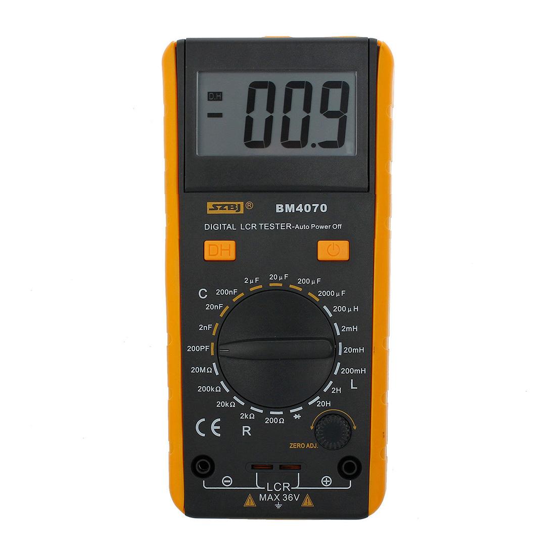 Lcr Meter Resistance : Szbj bm lcr meter inductance capacitance resistance