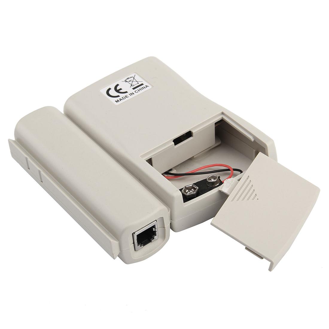 Ethernet Network Tester : Network ethernet lan cable tester crimper stripper tool