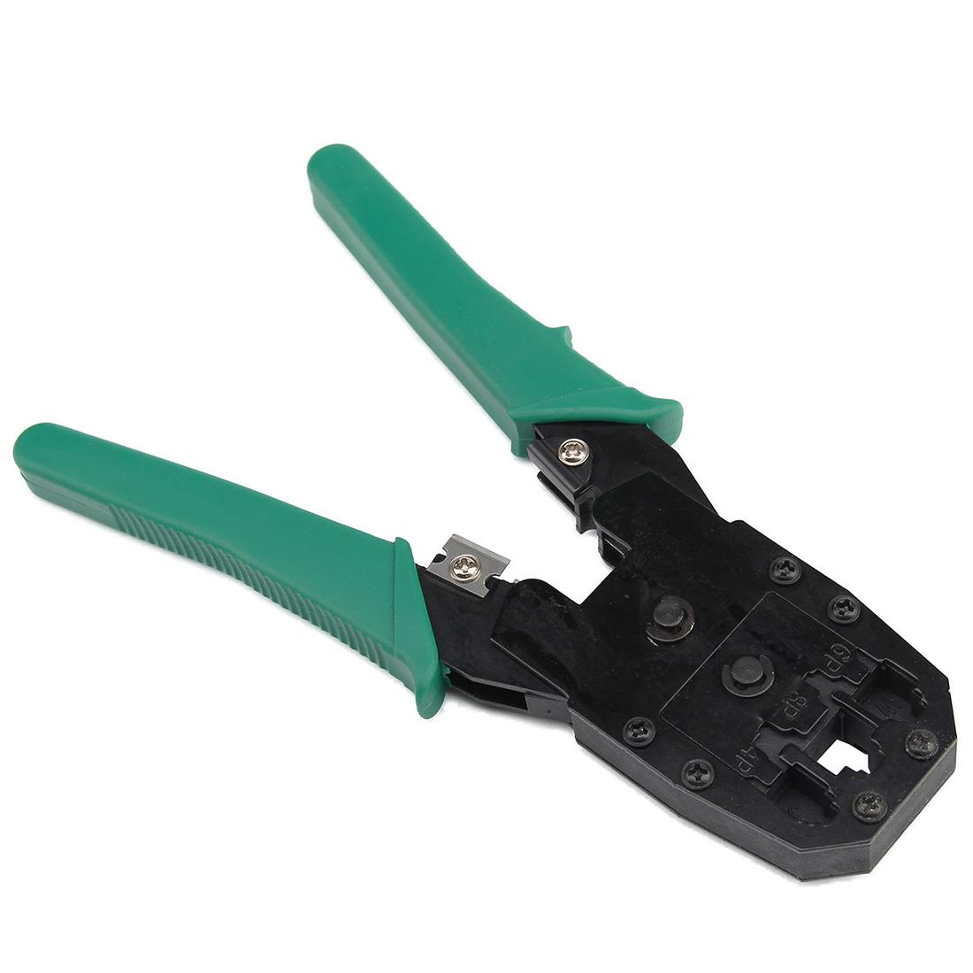 network ethernet lan cable tester crimper stripper tool kit connector si ebay. Black Bedroom Furniture Sets. Home Design Ideas