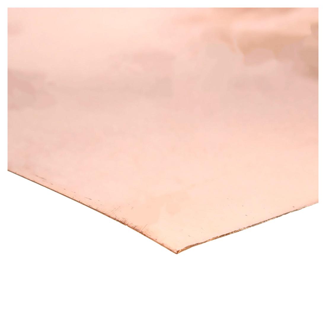 2x metallplatte kupfer platte u6f7 ebay. Black Bedroom Furniture Sets. Home Design Ideas