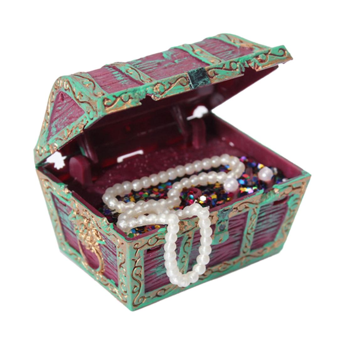 Aquarium decoration treasure chest treasure chest pirate for Fish tank treasure chest