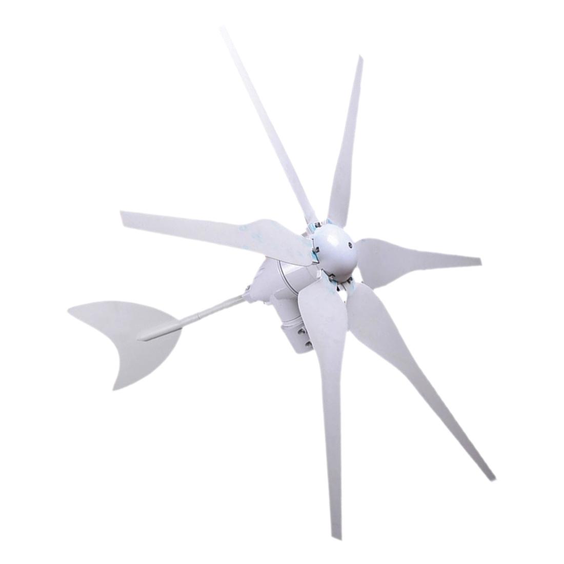 6 blade 300 watt max wind turbine generator 12 volt dcoutput 12v current dc x5b4 ebay. Black Bedroom Furniture Sets. Home Design Ideas