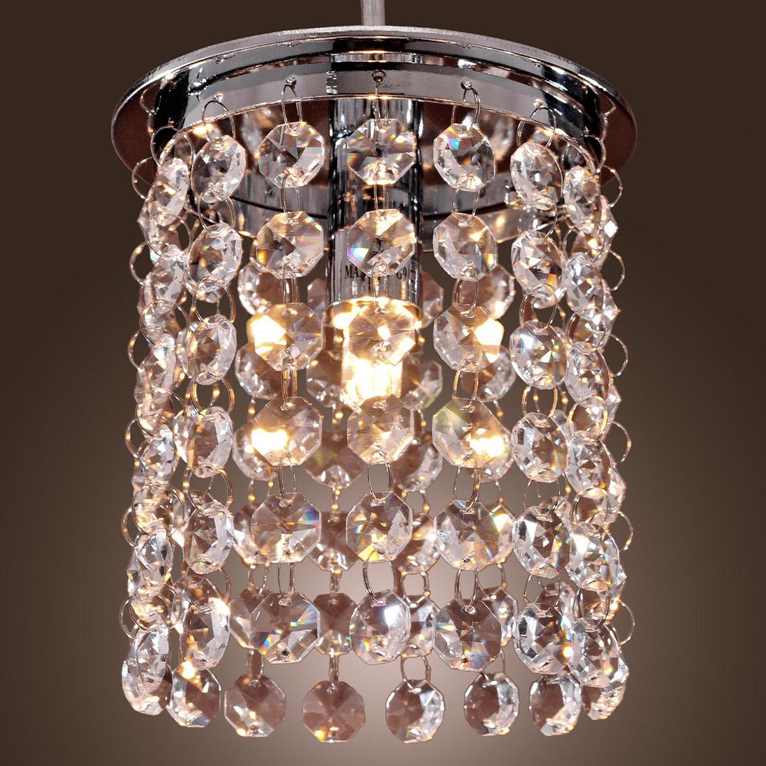 Crystal Ceiling Light Modern Chandelier Pendant Kitchen